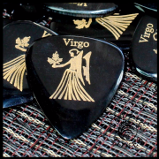 Zodiac Tones - Virgo - 1 Guitar Pick | Timber Tones
